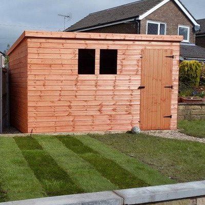 pent sheds 1 400x400 - Bespoke Sheds