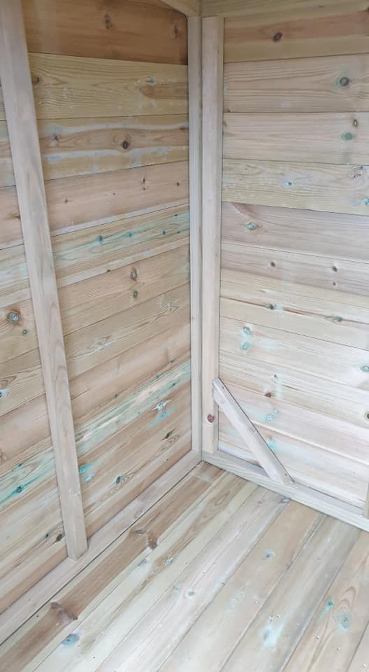 compact pent inside shed image - Compact Pent