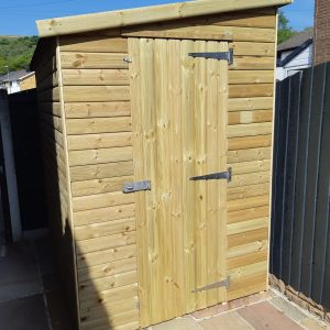 lean to pent 1 300x300 - Lean-To-Pent Shed