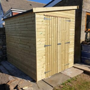 lean to pent shed image 2 300x300 - Lean-To-Pent Shed