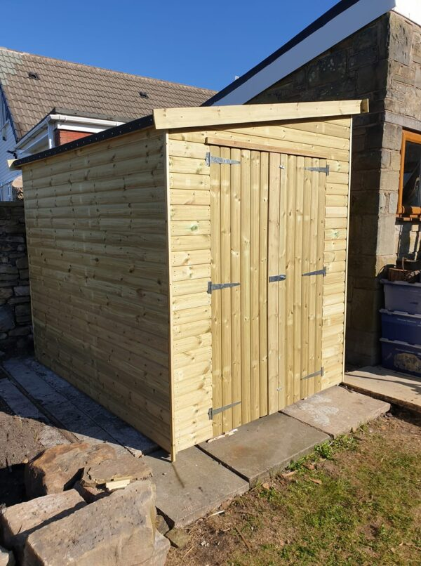 lean to pent shed image 2 600x806 - Lean-To-Pent Shed