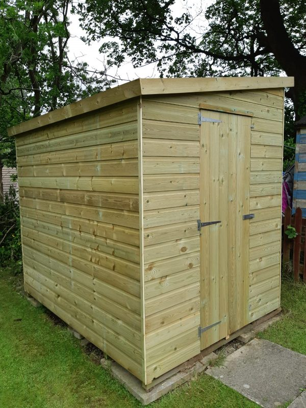 lean to pentshed 600x800 - Lean-To-Pent Shed