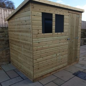 pent-shed