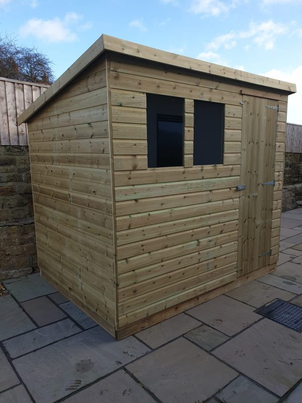 pent shed 600x800 - Pent Shed