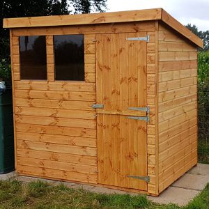 pent shed with stable doors 300x300 - Pent Shed