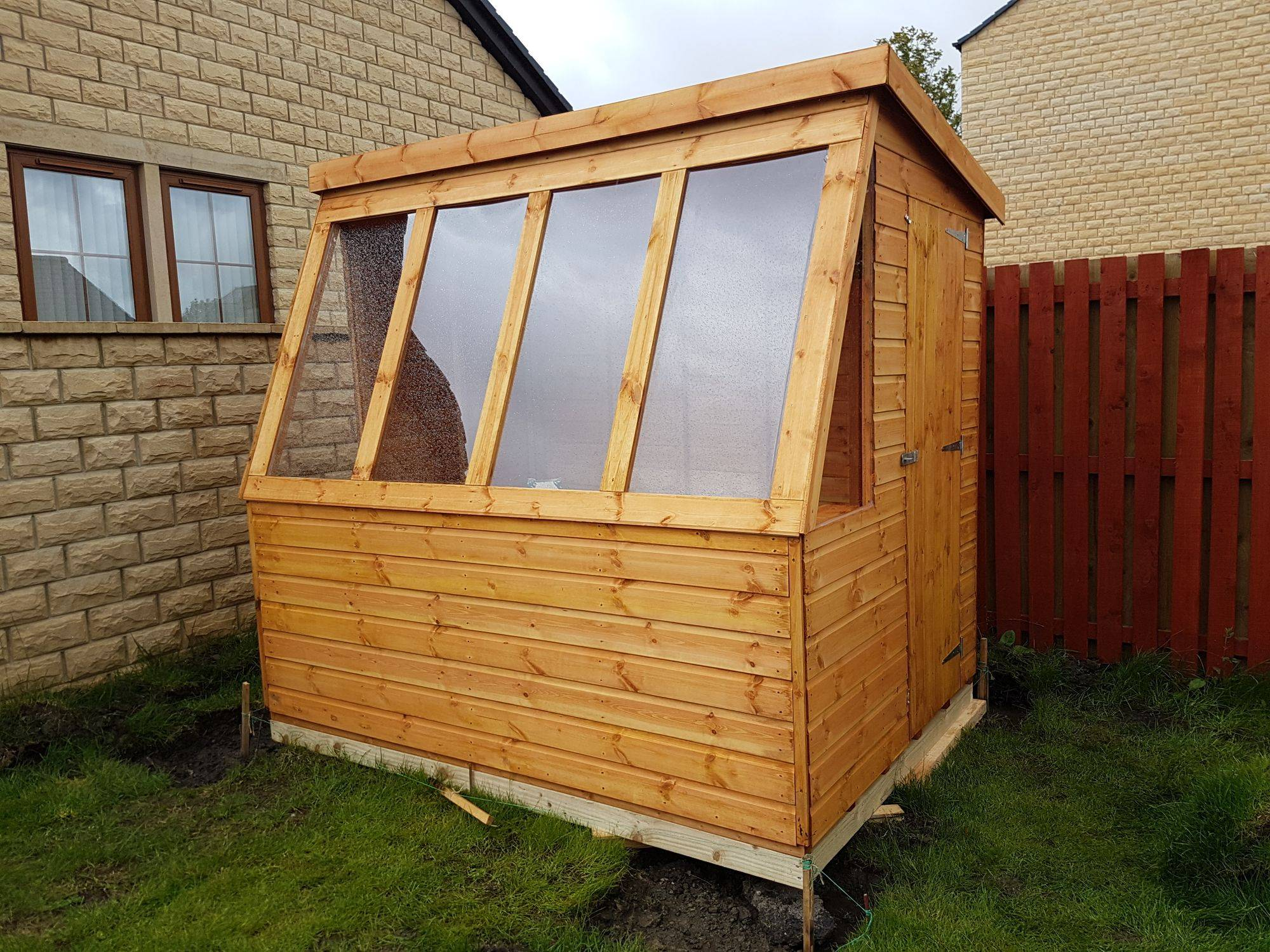 ace with painted ronseal sheds potting shed by colours manufactured pin