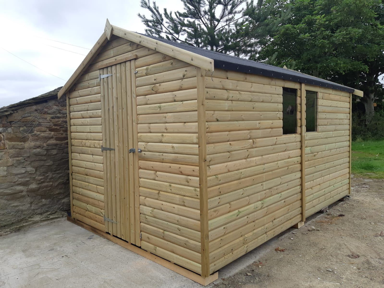 Heavy Duty Workshop North West Sheds