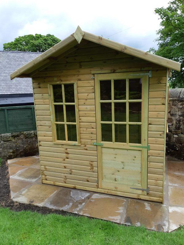 simple sumer house 600x800 - Simple Summer House