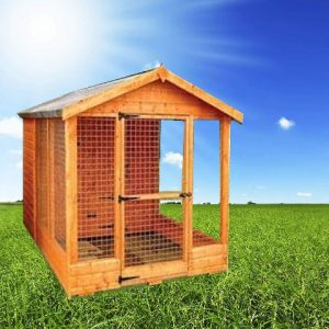 apex dog run 300x300 - 4FT Apex Dog Kennel & Run
