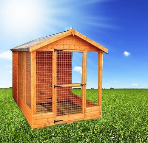 apex dog run - 4FT Apex Dog Kennel & Run