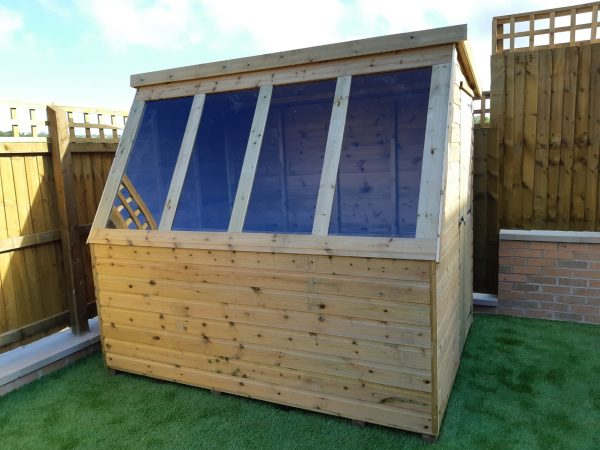 combi pot shed 600x450 - Potting Shed