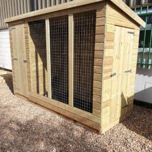 dog kennel run image 2 300x300 - Pent Dog Run