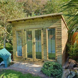 pent-summer-house