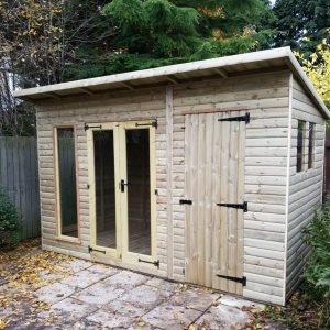 Combi Pent Summerhouse 300x300 - Combi Pent Summerhouse