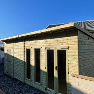 combi pent summerhouse image 2 300x300 - Combi Pent Summerhouse