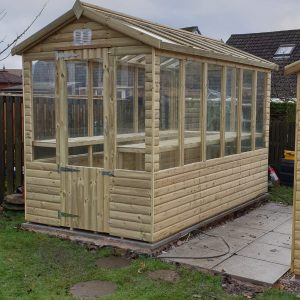 greenhouse 300x300 - Wooden Greenhouse