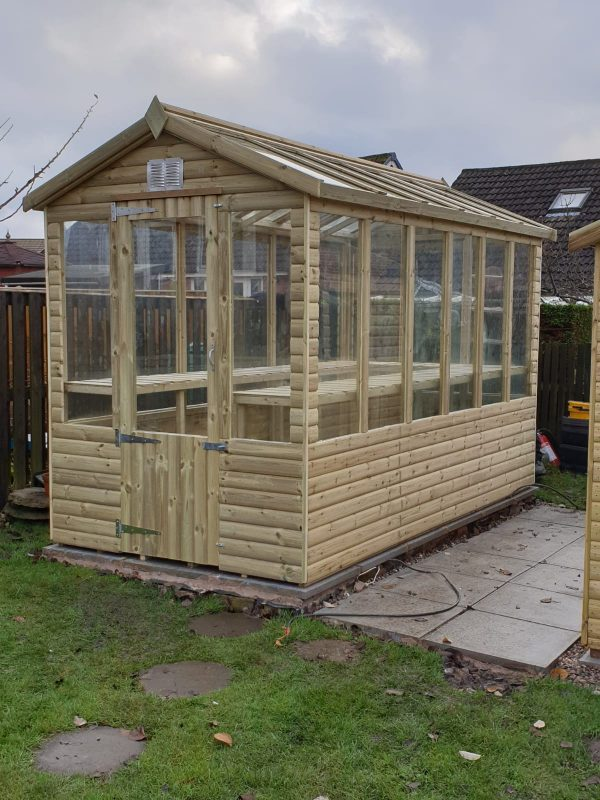 greenhouse 600x800 - Wooden Greenhouse
